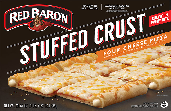 RED BARON® Stuffed Crust Four Cheese Pizza
