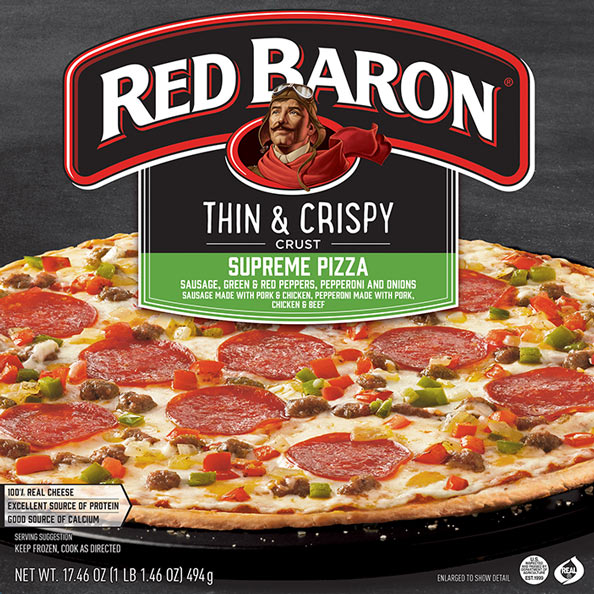 RED BARON® Thin & Crispy Pizza