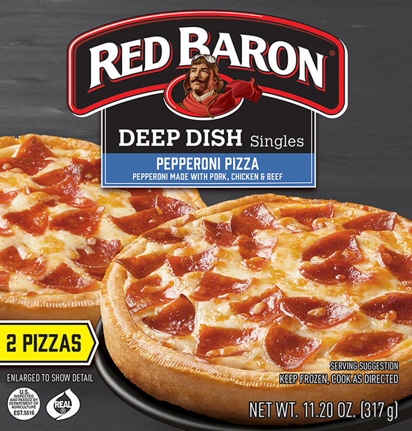 RED BARON® Deep Dish Pizza Singles